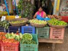 Daggupati Anitha now sells vegetables and fruits for her livelihood